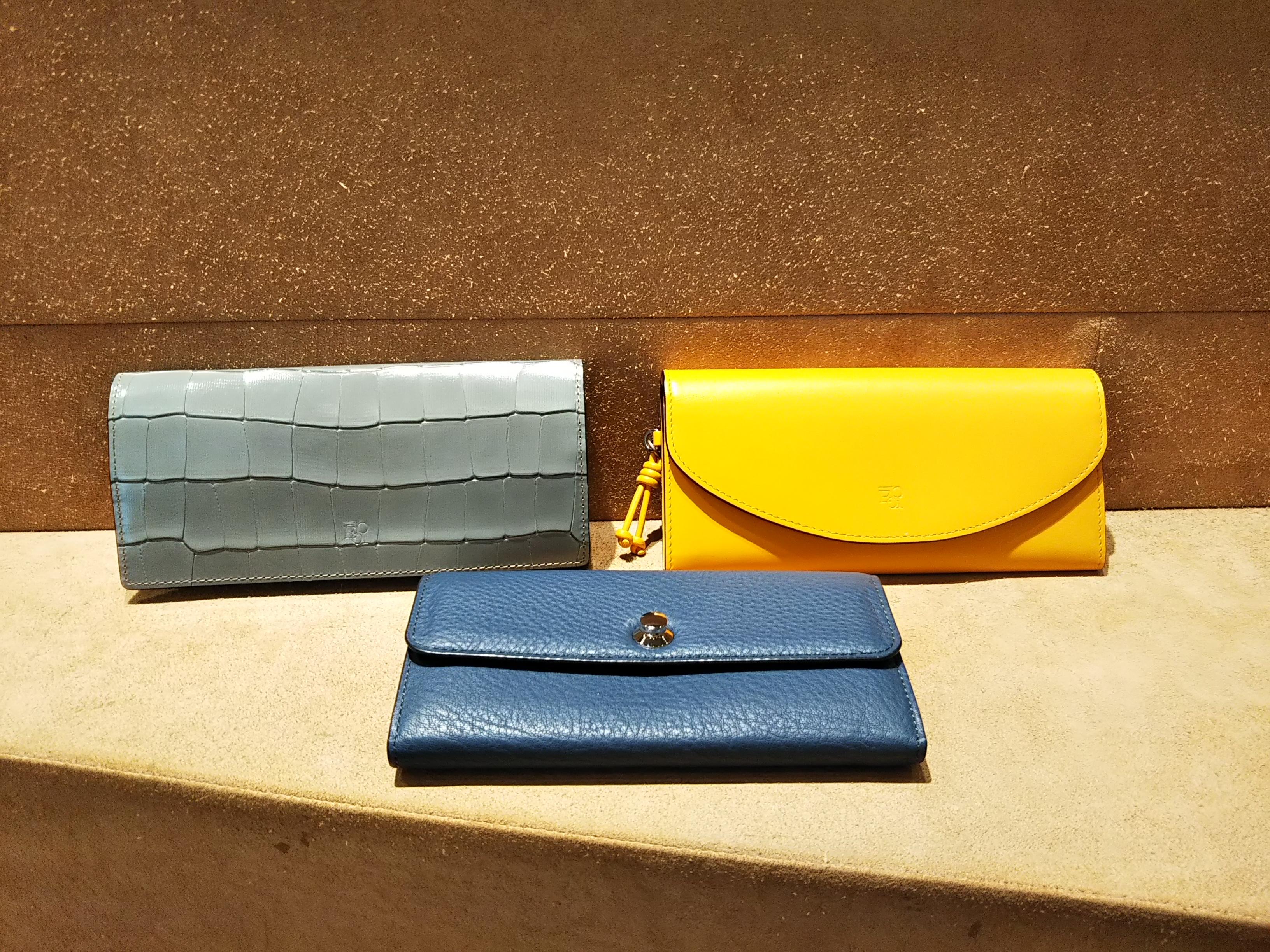 長財布のスタイルチェンジ