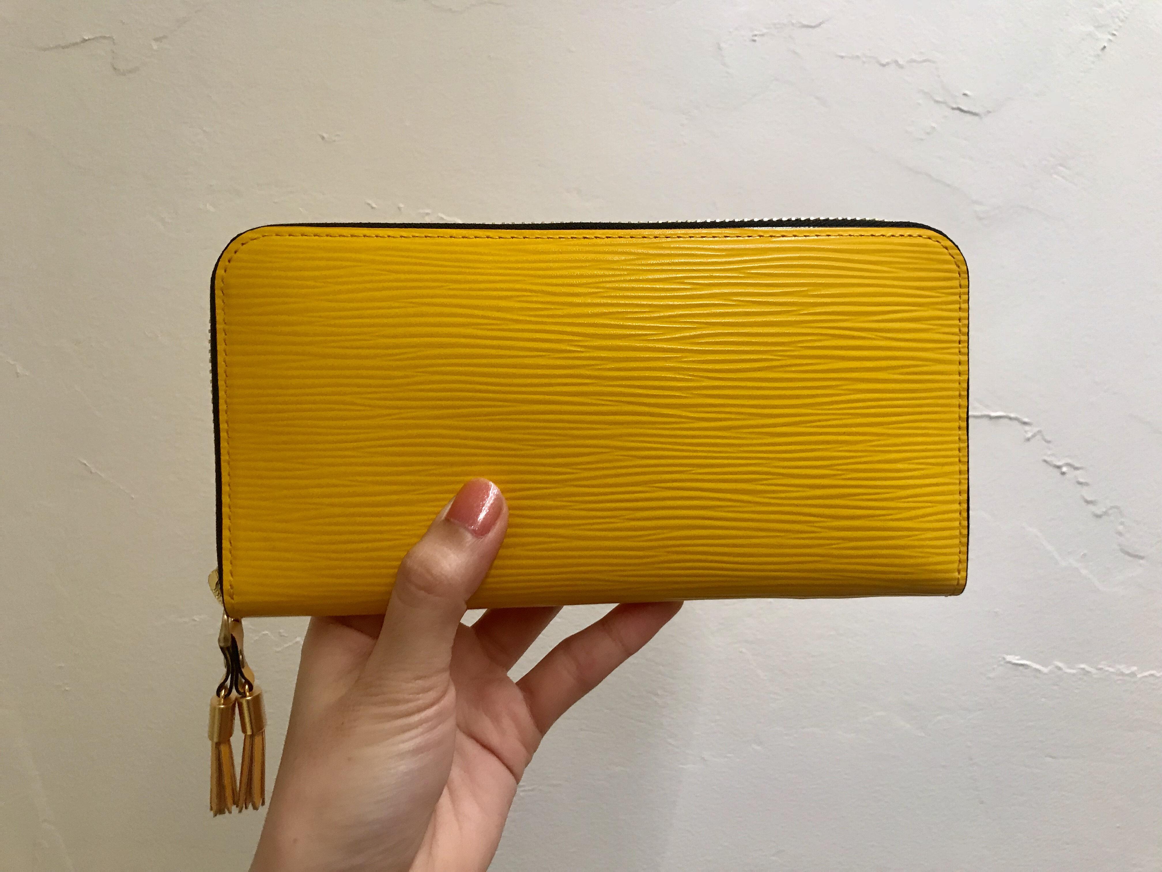 2019年に持ちたい黄色の長財布