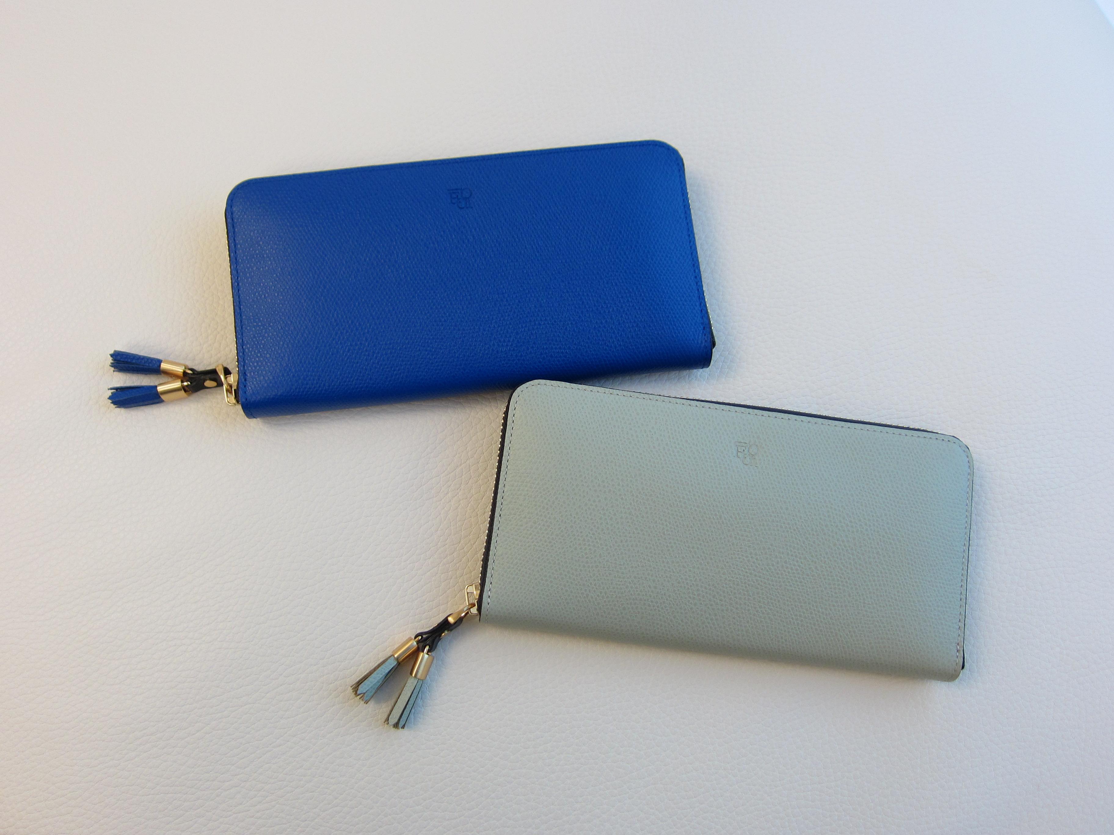 【新色】シキラウンドファスナー長財布(全20色となりました)