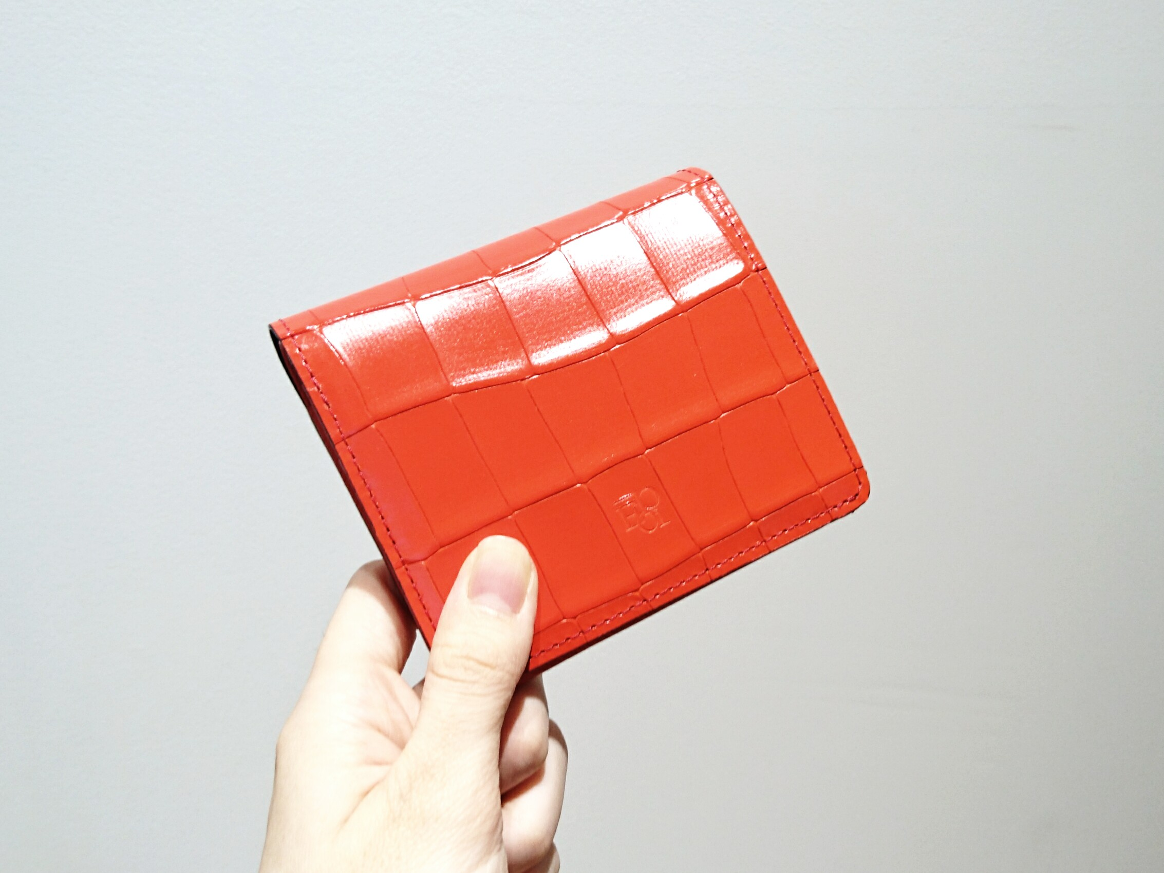 2点入荷 タイル BOX小銭入れ付折り財布