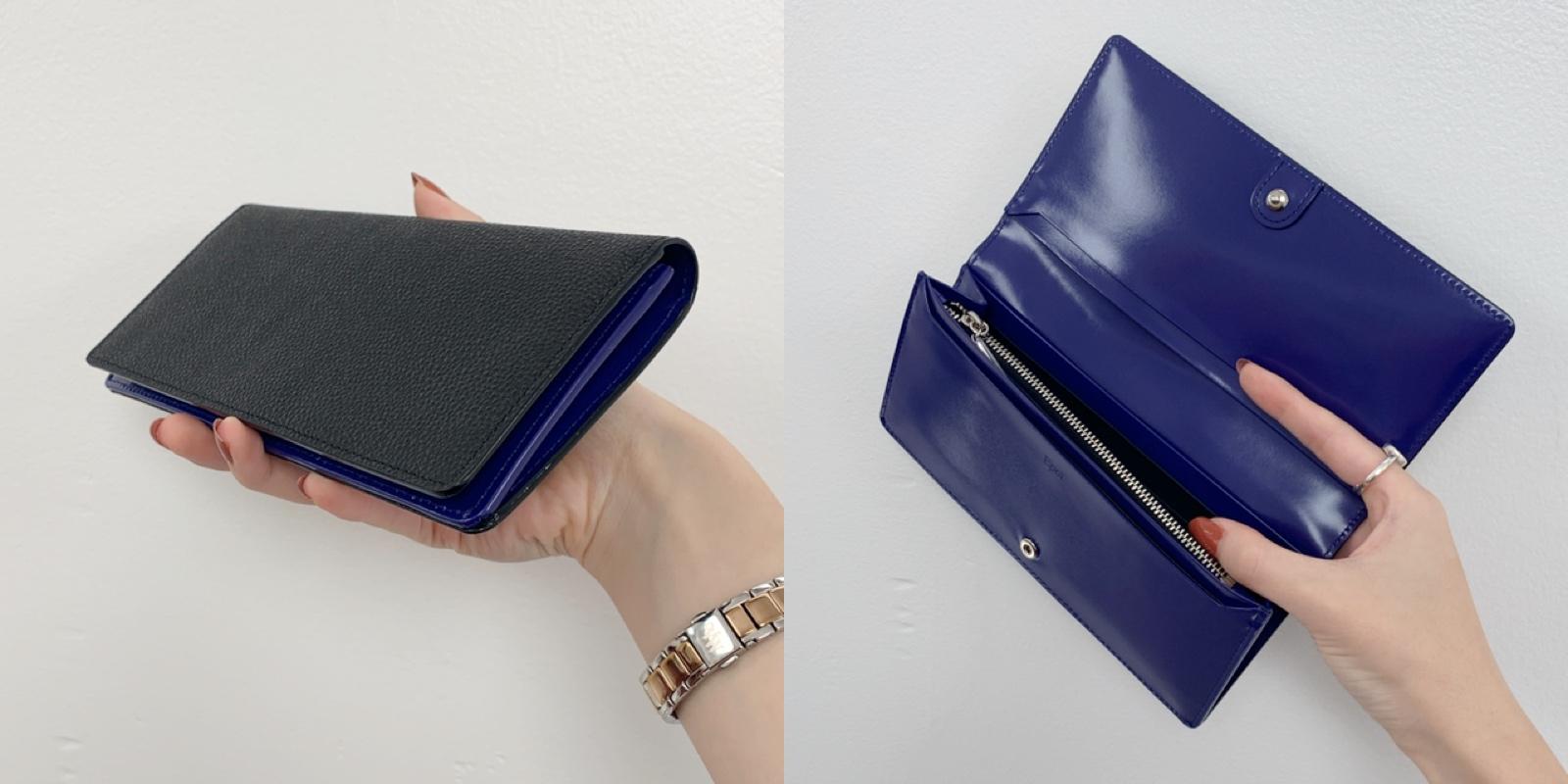 Epoi(エポイ) サヨ かぶせ長財布