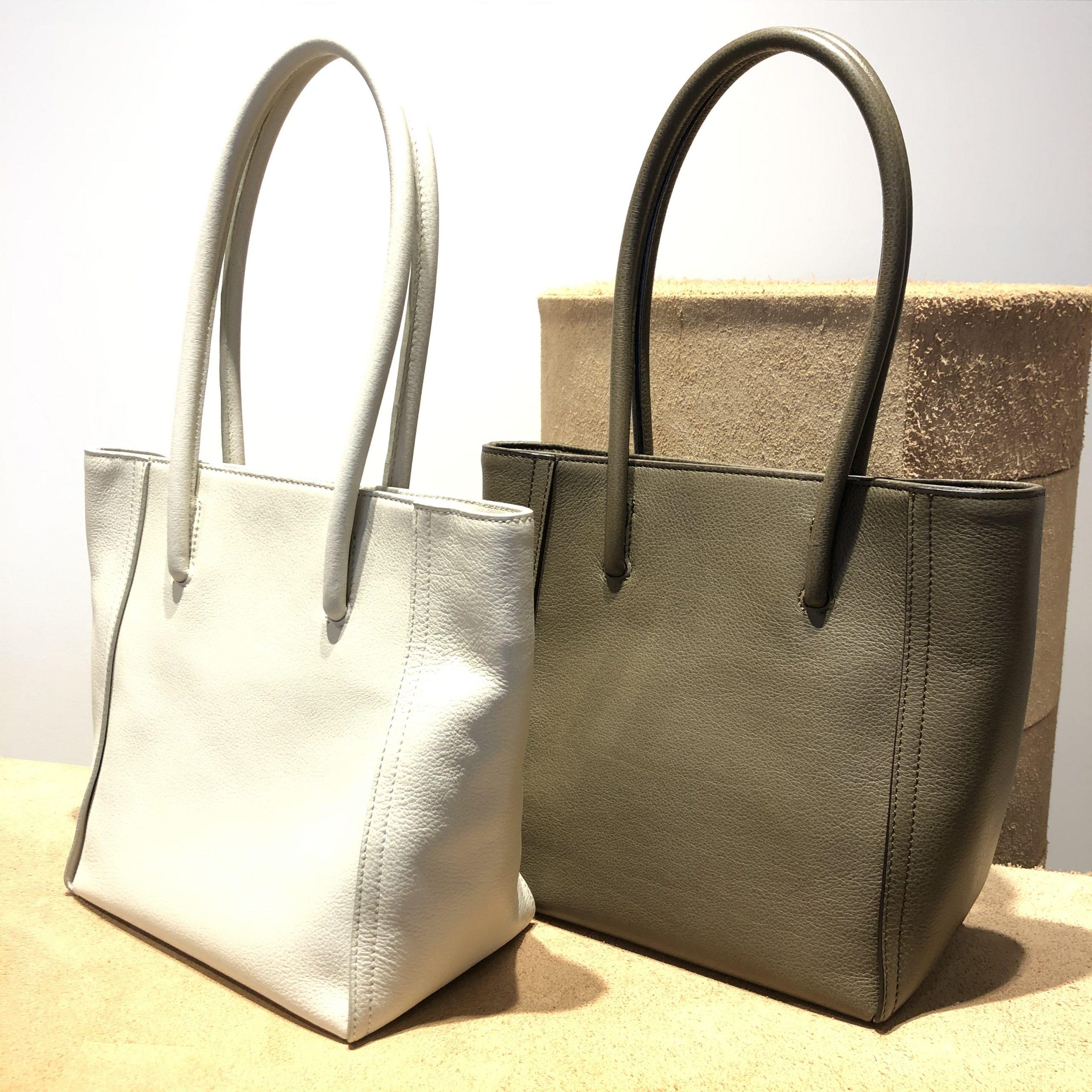 シンプルな中に匠の技あり 上質ミニトートバッグ