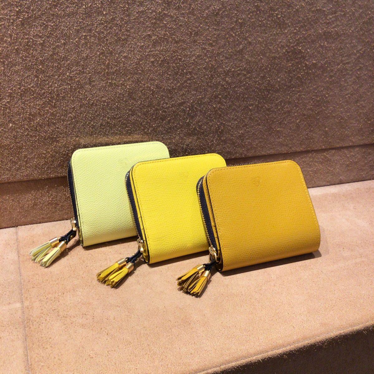 金運上昇☆黄色のお財布