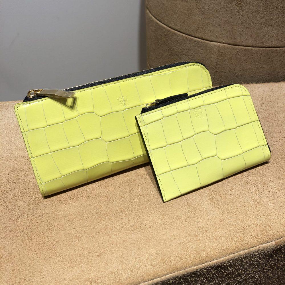 レモン色のお財布♪
