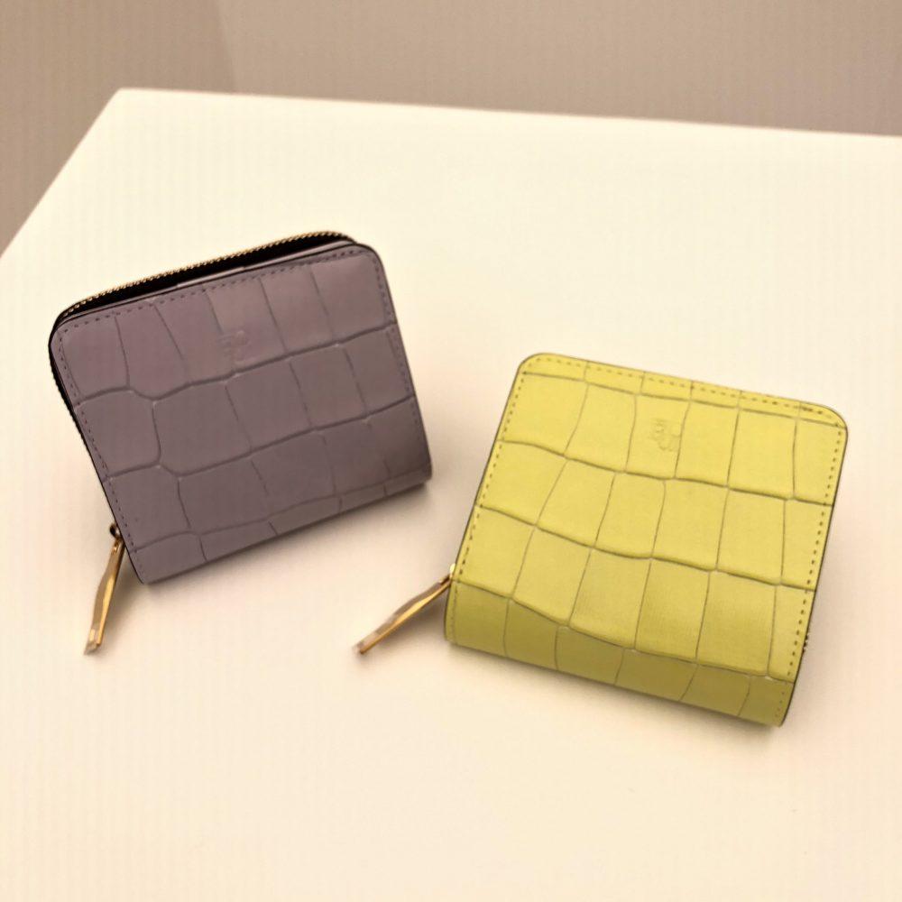 【新色入荷】タイルシリーズ折り財布に新色が登場しました♪